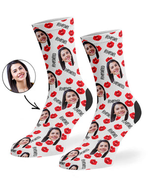 Girl Power Lips Socks