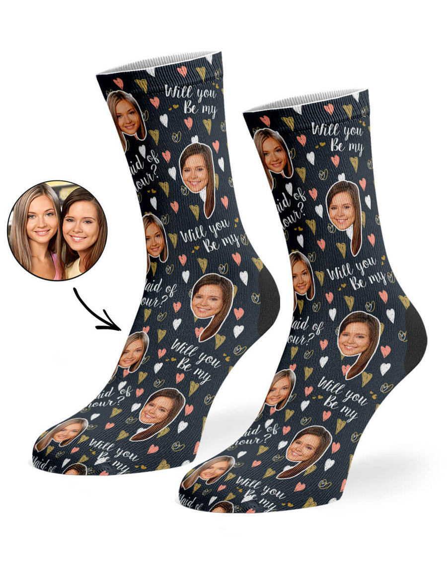 Will You Be My Maid Of Honour? Socks