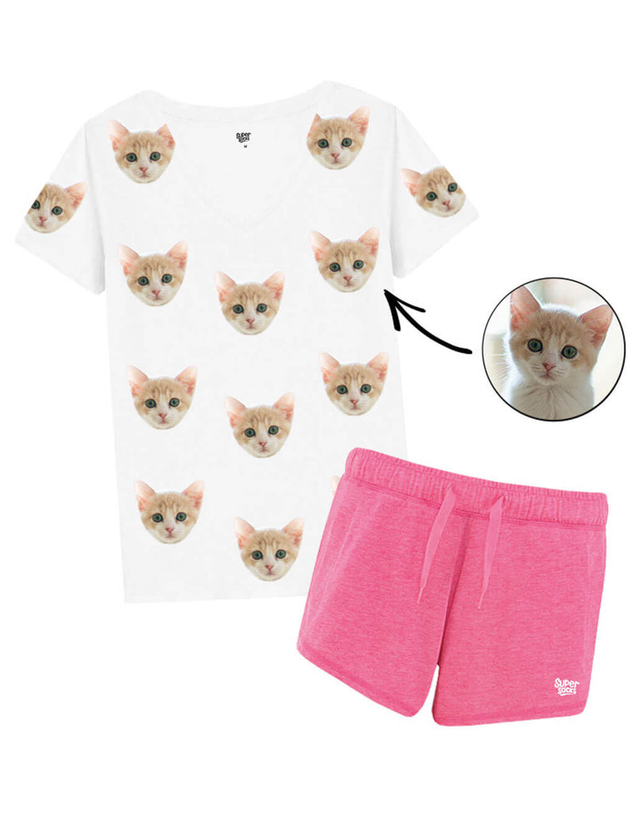 Womens Your Cat PJs