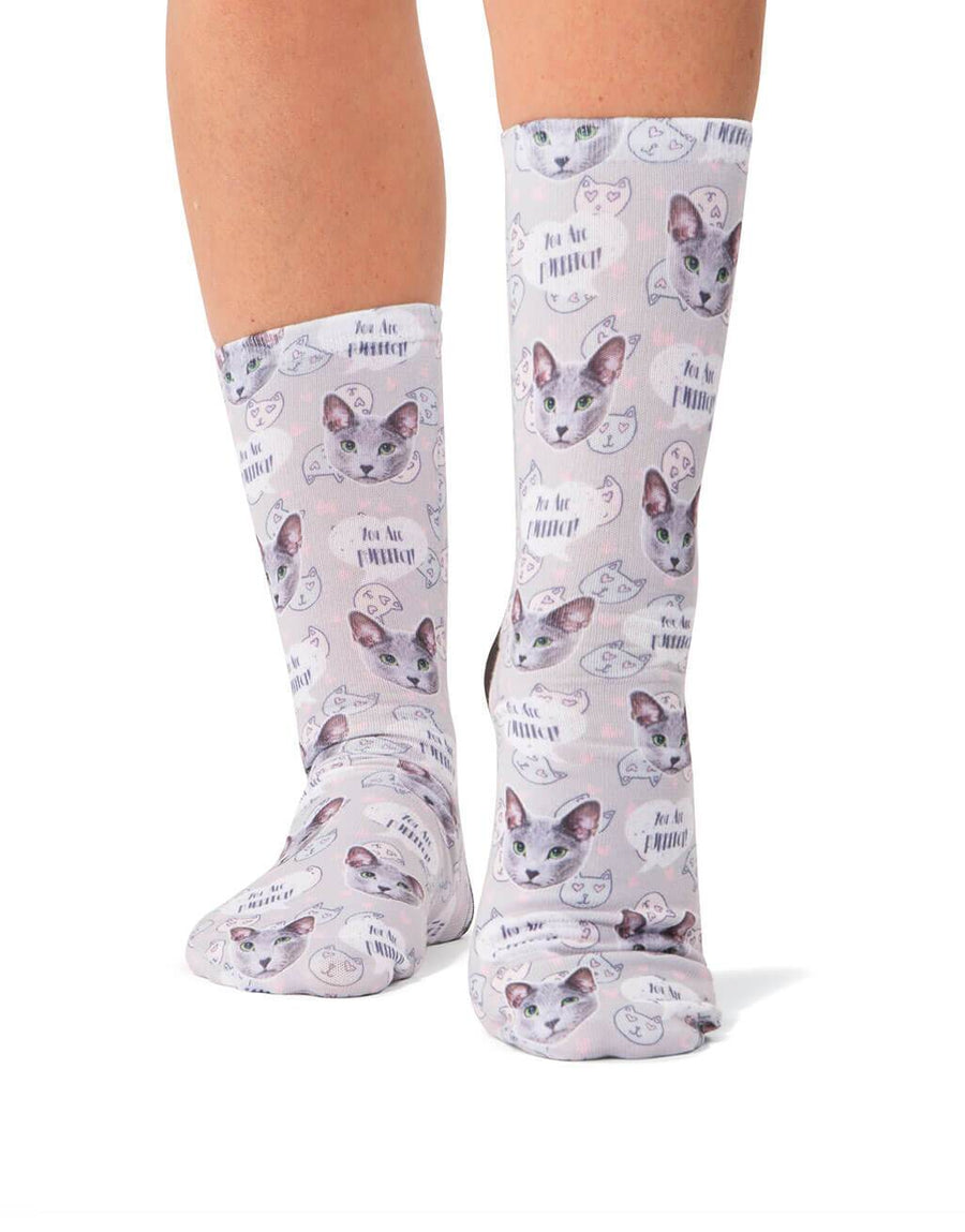 You Are Purrfect! Socks