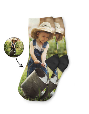 Your Photo on Kids Socks