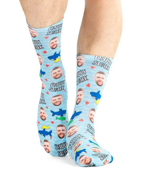 Daddy Shark Socks