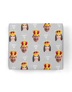 King & Queen Gift Wrap