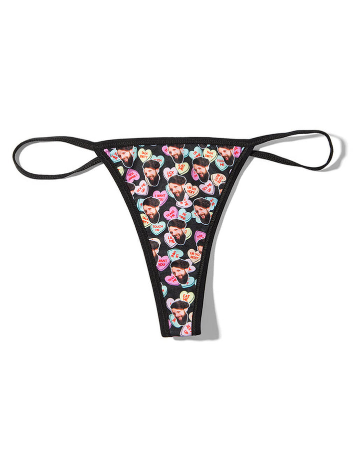 Naughty Love Hearts Thong