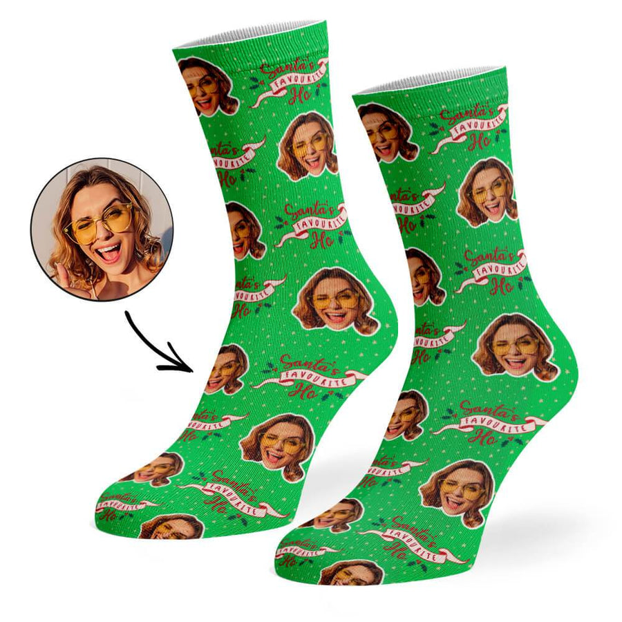 Santa's Favorite Ho Socks