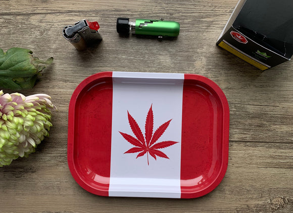 Small rolling tray