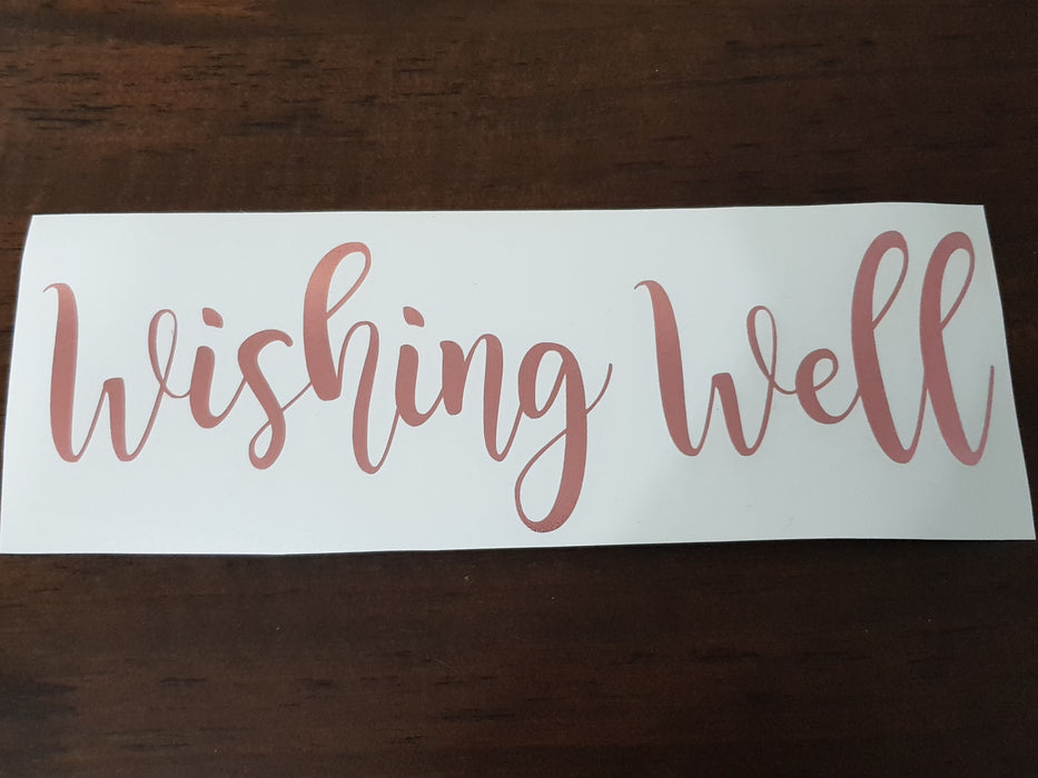 Decal Only: Wishing Well
