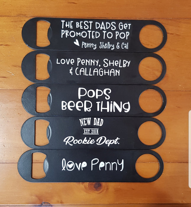 Fathers Day Bottle openers