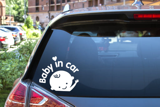 Car Decal Baby in Car