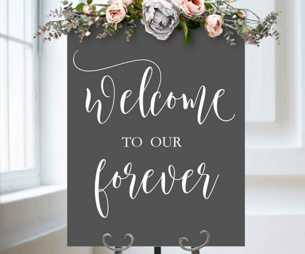 Decal Only: Welcome to our Forever
