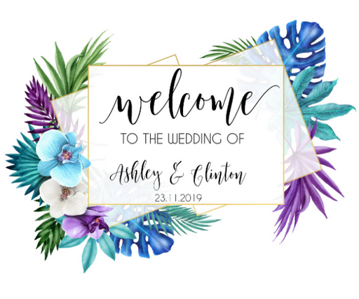 Welcome Sign Digital Printable