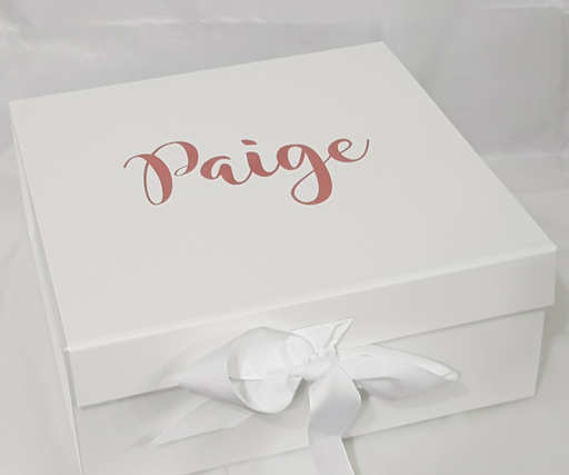 Bridal Party Thank you Boxes