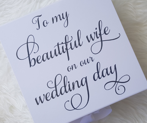 Wife Bride Box