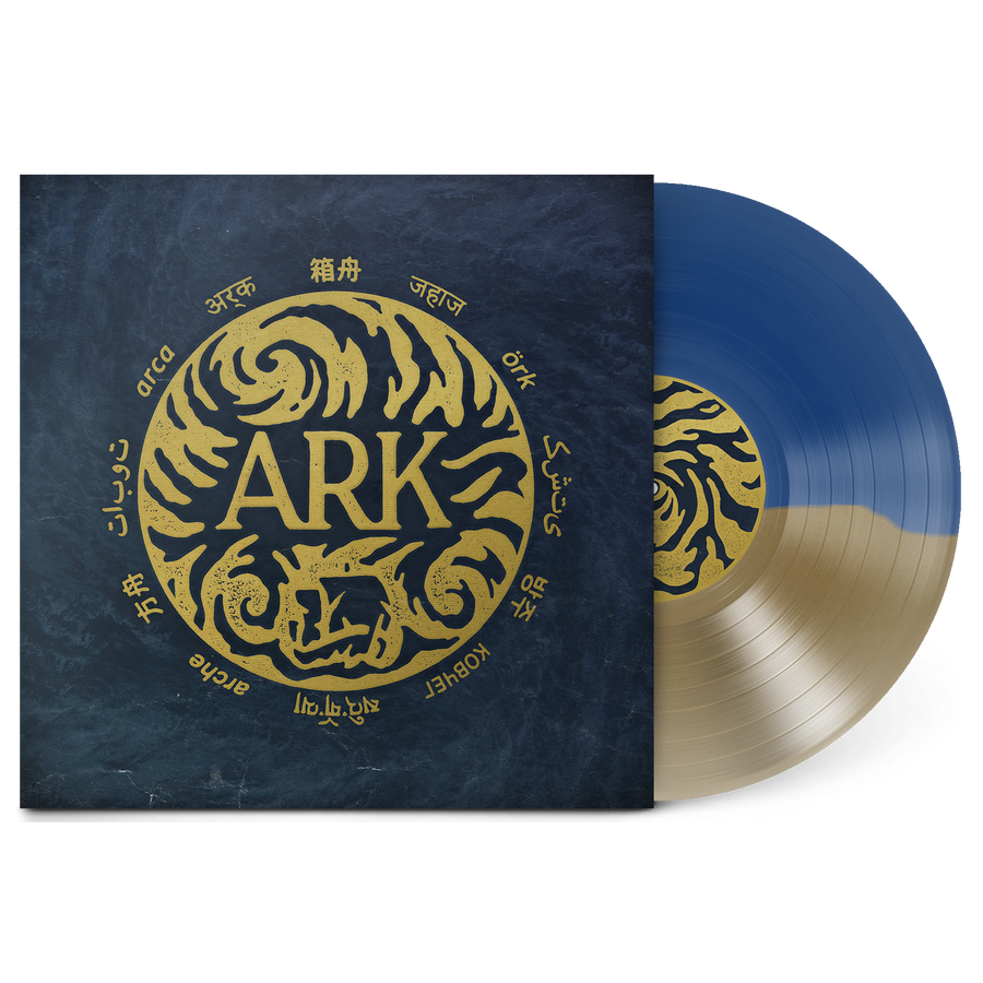 Ark Vinyl (Blue/Gold)
