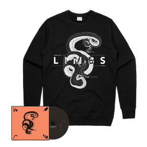 LIMBS - Father's Son CD + Snake Crewneck Bundle