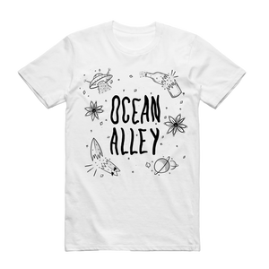Galaxy White T-Shirt