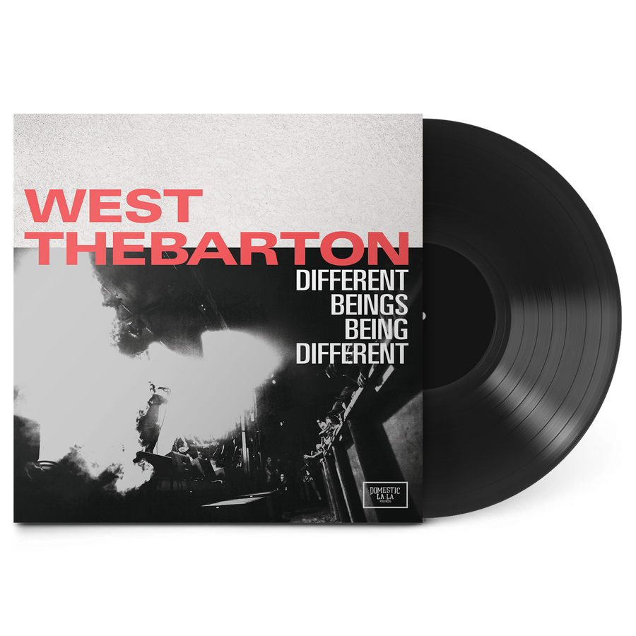 West Thebarton - Different Beings, Being Different Black Vinyl LP