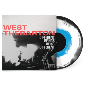 West Thebarton - Different Beings, Being Different Tri-Color Vinyl LP