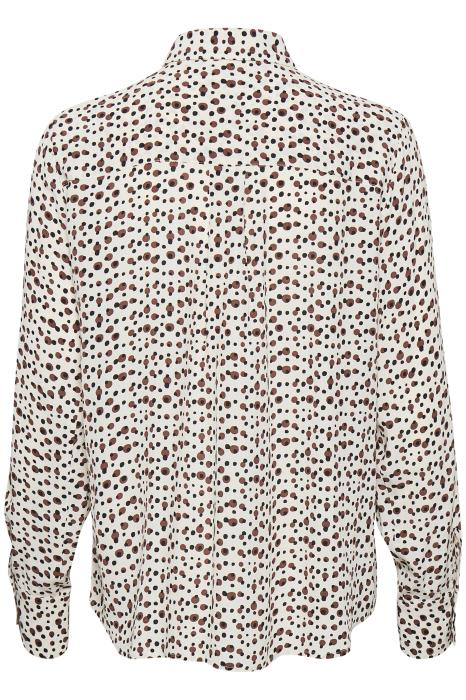 "Part Two - Tally Casual Blouse in ""Irregular Dot Print"""
