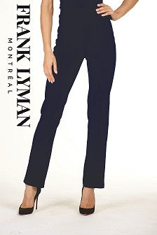 Frank Lyman - Straight Leg Easy Wear Trousers (Two colours)