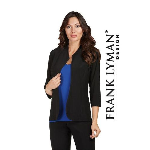 Frank Lyman - Black 3/4 Sleeve Evening Jacket