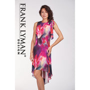 Frank Lyman - Pink & Purple Sleeveless Summer Dress