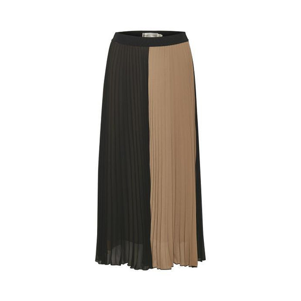 InWear - Jasmine IW Two colour long fully pleated skirt