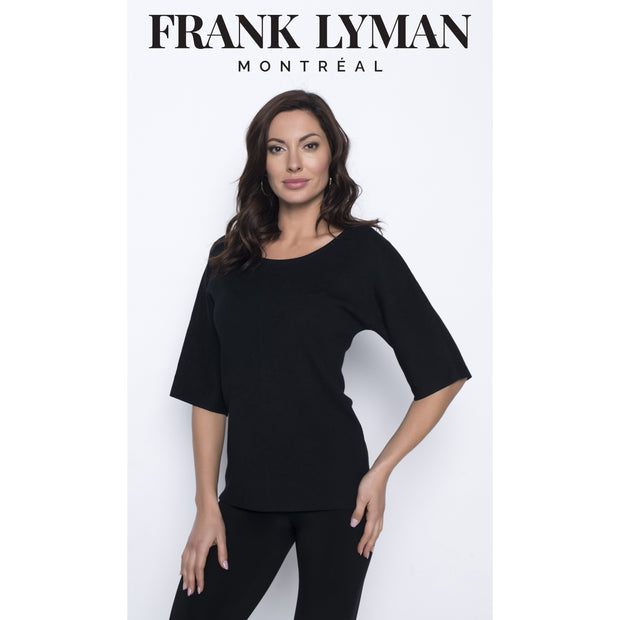 Frank Lyman - Black Evening Jumper with Diamante on Back