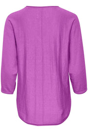 Part Two - Hido 3/4 Sleeve V Neck Knitted Pullover (2 colours)
