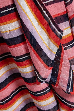 Part Two - Sana - Multistriped Floaty Dress