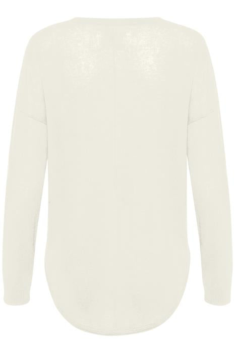 Part Two - Saphira - Long Sleeve Lightweight V Neck Knitted Pullover