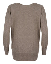 Celtic & Co. - Soft Cowl Neck Jumper
