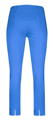Robell – Rose 09 - Cropped Trousers in Plain Fabrics