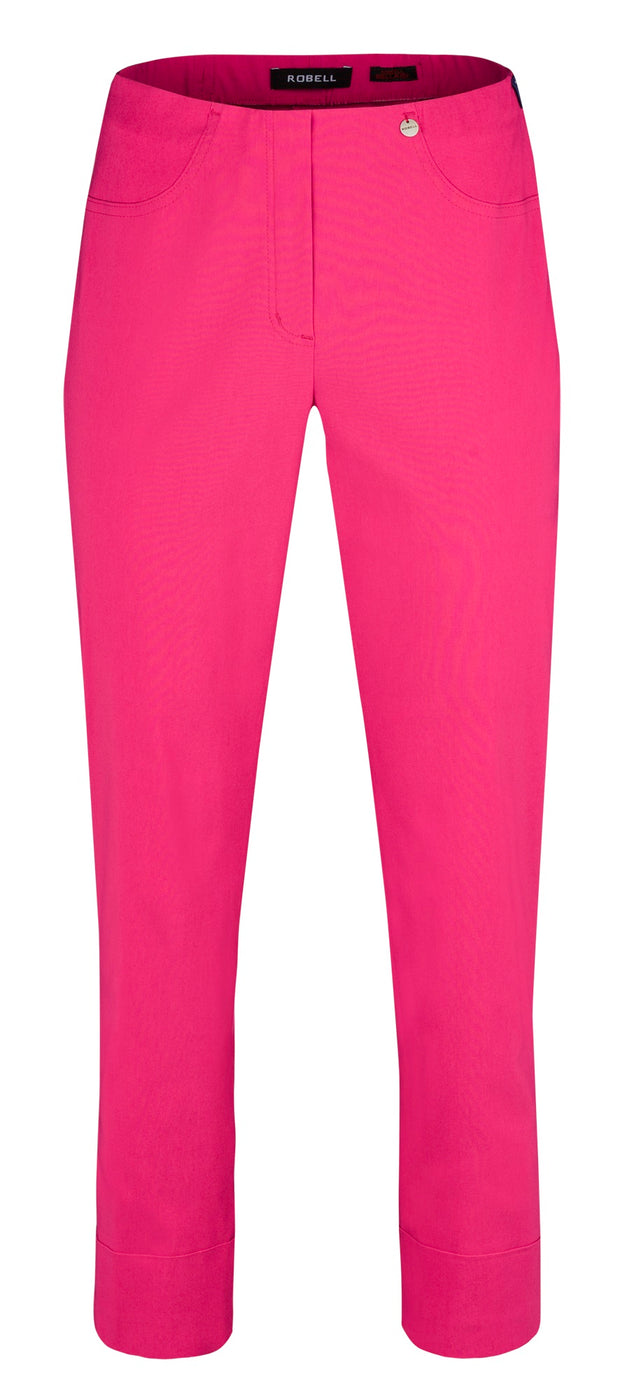 Robell – Bella 09 - Cropped Trouser (7/8 Length) in Various Plain Colours