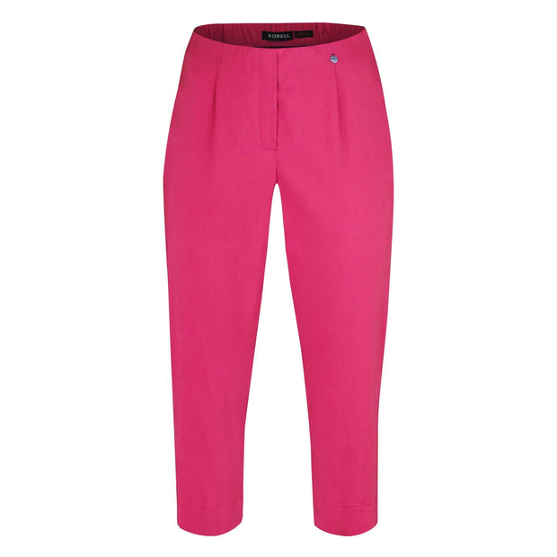 Robell – Marie 07 - Capri Trouser in Plain Colours (Various Colours available)