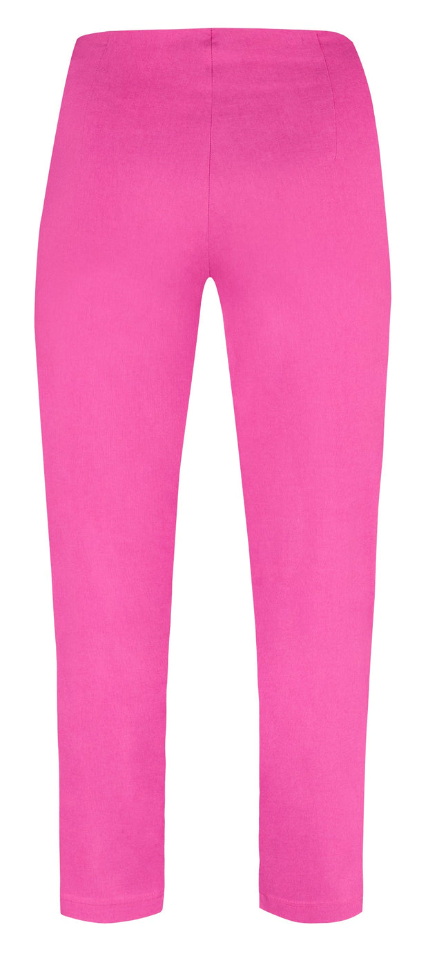 Robell – Lena 09 - Cropped Trousers With Cut Away Ladder Design at Hemline (8 colours)