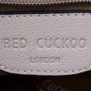 Red Cuckoo - Medium Shoulder Bag with Top Closure
