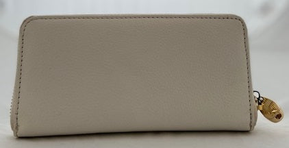 Ashwood Two Tone Zip Closure Leather Purse  (2 colours)