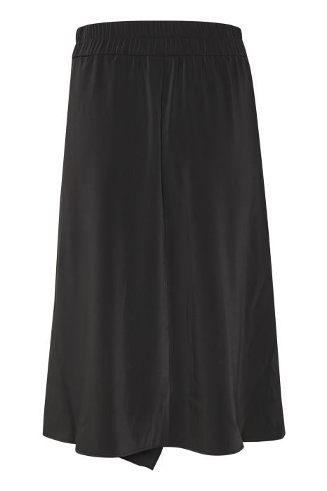 InWear - Abana Black A-Line skirt with frill detail