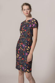 InWear - Abril Flower Print fitted dress