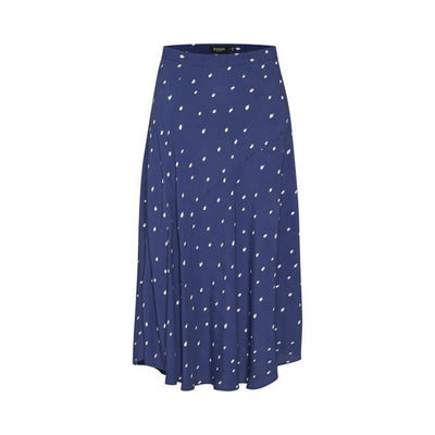 Soaked In Luxury - Alaya Full Floaty Skirt with White Splodges