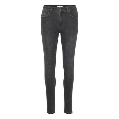 Part Two - Alice - Skinny Jeans in Washed Black Denim