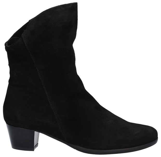 Riva - Armadillo Ankle Boot - Black