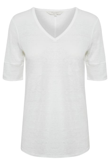 Part Two - Curly Short Sleeve Linen Relaxed Fit Tee Shirt (2 colours)