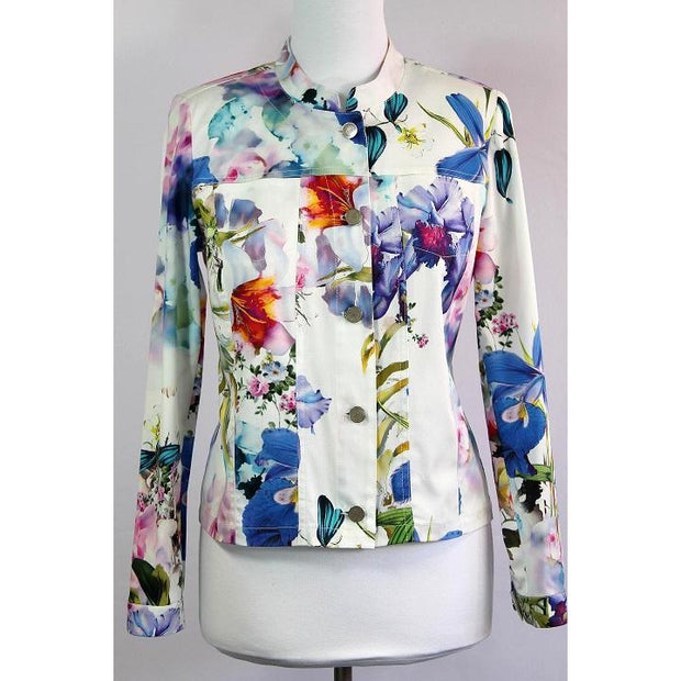 ERFO Multi-Coloured Floral Jacket
