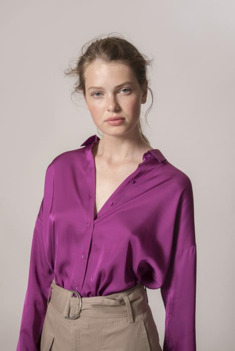 InWear - Hattie Floaty Shirt in Bright Pink