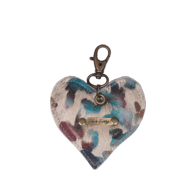 Owen Barry - Heart Cowhide Keyring 70th Collection