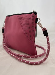 Punch Bags - Neoprene Panelled Mini Crossbody/Shoulder Bag (4 colours)