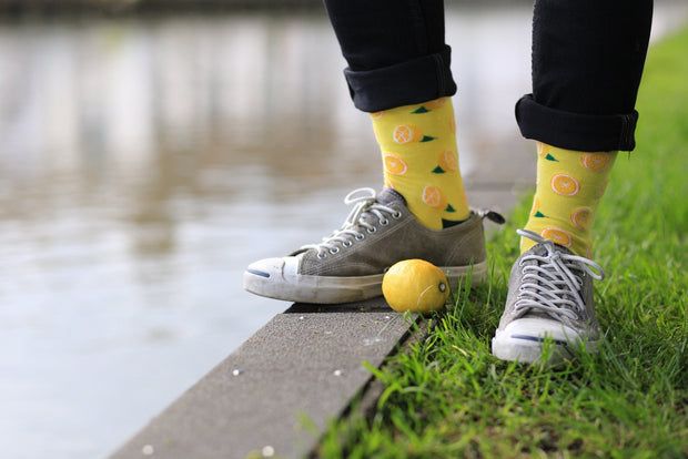 Moustard - Ladies Lemon Socks