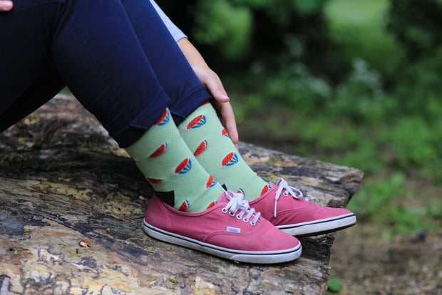 Moustard - Ladies Watermelon Socks